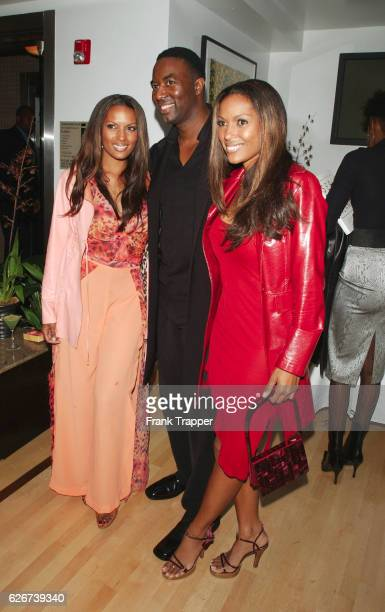 Rosie Tennison Matthew Jordan Smith and Renee Tenison during a launch party for photographer Smith's new book Sepia Dreams