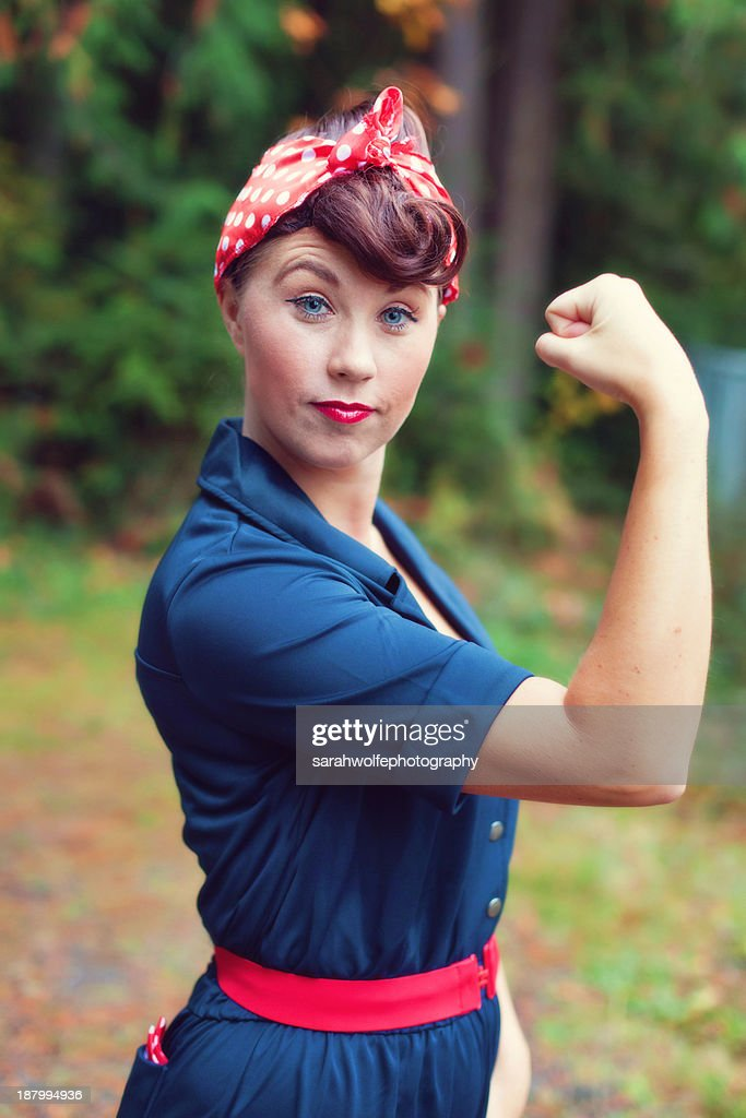 Rosie the riveter : Stock Photo