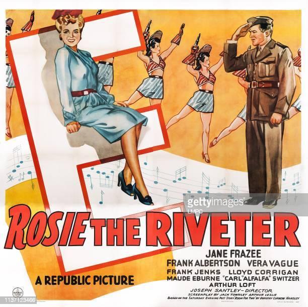 Rosie The Riveter poster US poster front from left Jane Frazee Frank Albertson 1944