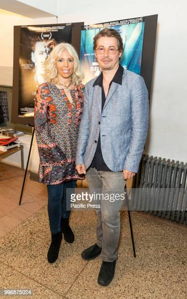 Rosie Tovi and Edoardo Ballerini attend 7 Splinters in Time New York premiere at The Anthology Film Archives