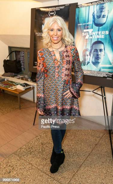 Rosie Tovi attends 7 Splinters in Time New York premiere at The Anthology Film Archives