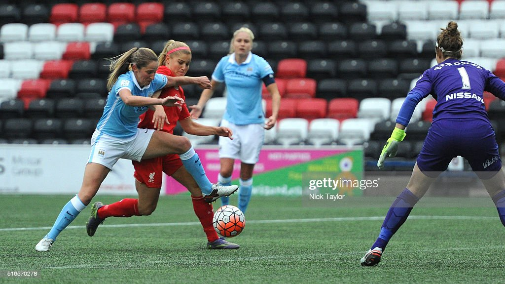 Liverpool Ladies v Manchester City Women: Women's FA Cup : News Photo
