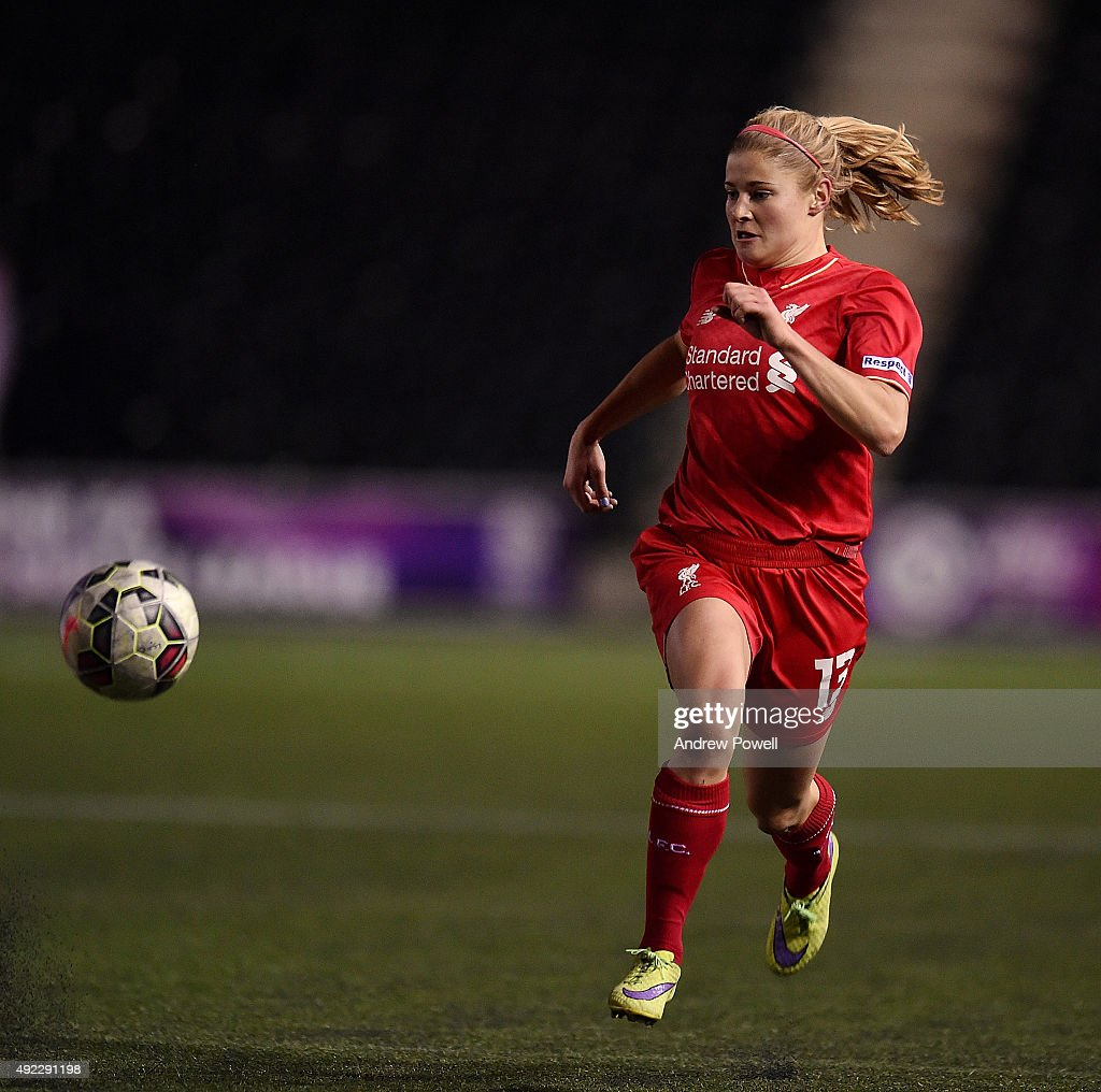 Liverpool Ladies v Notts County Ladies: Continental Cup Semi-Final