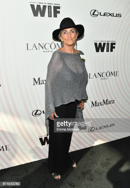 Rosilyn Heller attends the Women In Film 2018 Crystal Lucy Awards presented by Max Mara Lancôme and Lexus at The Beverly Hilton Hotel on June 13 2018...