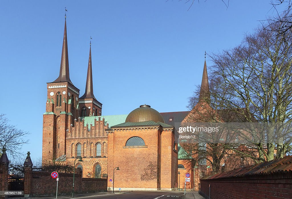 Roskilde Cathedral, Denmark : Stock Photo