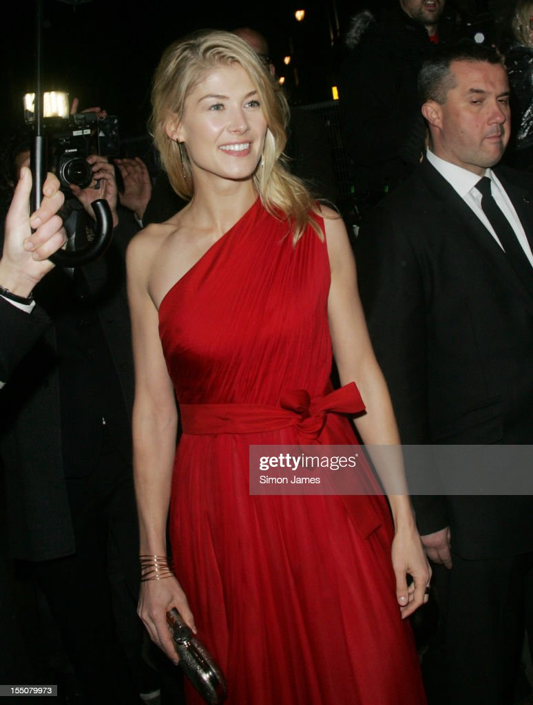 Rosmund Pike sighting on October 31, 2012 in London, England.