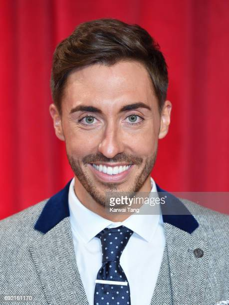 Ross Adams attends the British Soap Awards at The Lowry Theatre on June 3 2017 in Manchester England