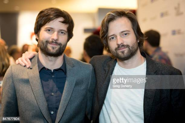 Ross and Matt Duffer 'Stranger Things' Cocreators attend the WGAW's Sublime Primetime 2017 at Writers Guild Theater on September 15 2017 in Beverly...
