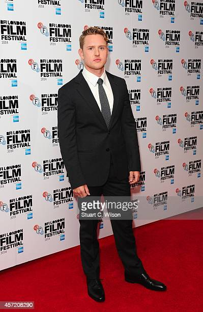 Ross Anderson attends the red carpet arrivals of Silent Storm during the 58th BFI London Film Festival at Vue Leicester Square on October 14 2014 in...