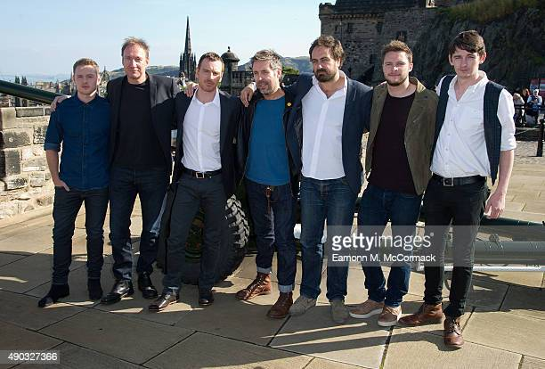 Ross Anderson David Thewlis Michael Fassbender Paddy Considine Director Justin Kurzel Jack Reynor and James Harkness attend a photocall for 'Macbeth'...