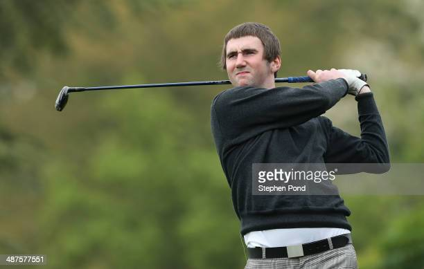Ross Anderson of Finchley Golf Club during the PGA Powerade PGA Assistants' Championship Eastern Regional Qualifier at Haverhill Golf Club on April...