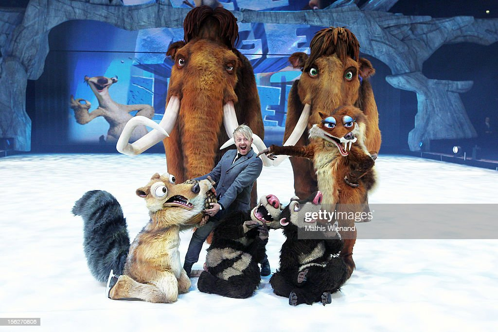 Ross Antony attends the Ice Age Live! - Gala Premiere on November 12, 2012 in Duesseldorf, Germany.