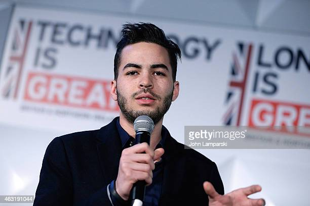 Ross Bailey of Appear Here attends NYLON Tech Challenge at Emigrant Savings Bank on February 11 2015 in New York City