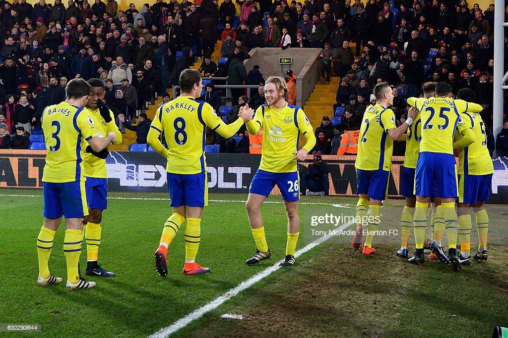 Crystal Palace v Everton - Premier League : Nachrichtenfoto