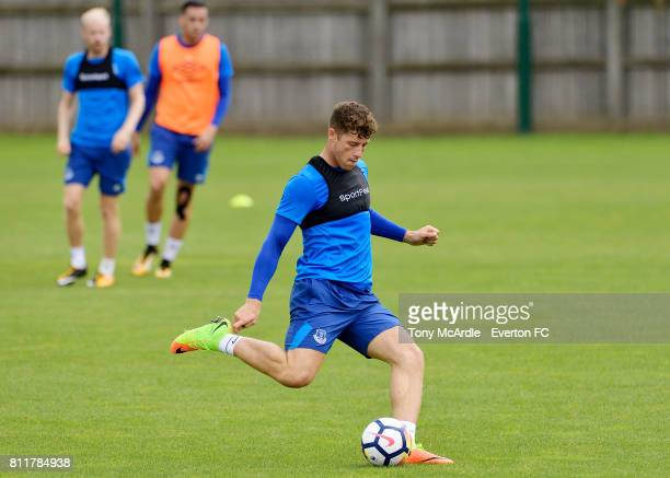 Ross Barkley during the Everton training session at USM Finch Farm on July 10 2017 in Halewood England