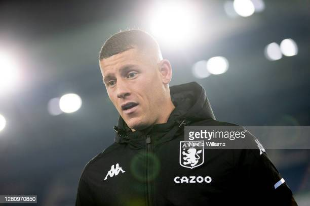 Ross Barkley of Aston Villa after the Premier League match between Leicester City and Aston Villa at The King Power Stadium on October 18 2020 in...