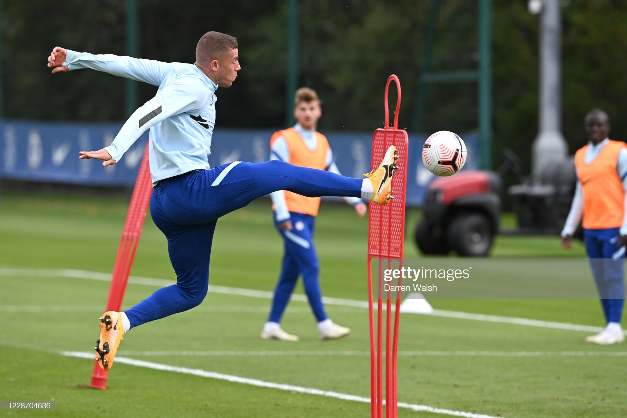 Chelsea Training and Press Confernece : News Photo