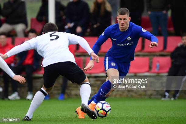 Ross Barkley of Chelsea during the Premier League 2 match between Derby U23 and Chelsea U23 at St Georges Park on March 31 2018 in Burton on Trent...