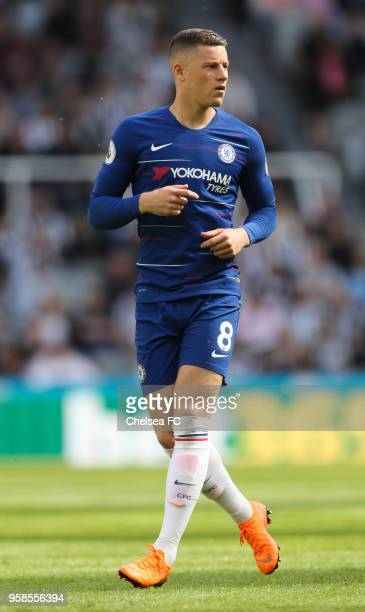 Ross Barkley of Chelsea during the Premier League match between Newcastle United and Chelsea at St James Park on May 13 2018 in Newcastle upon Tyne...