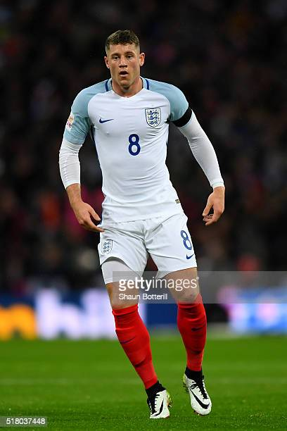Ross Barkley of England during the International Friendly match between England and Netherlands at Wembley Stadium on March 29 2016 in London England
