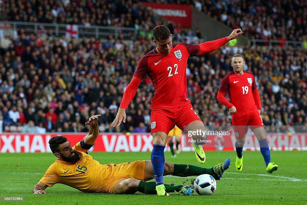 England v Australia - International Friendly : News Photo