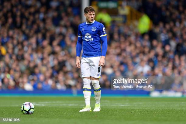 Ross Barkley of Everton during the Premier League match between Everton and Chelsea at the Goodison Park on April 30 2017 in Liverpool England