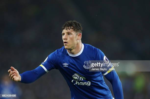 Ross Barkley of Everton during the Premier League match between Everton and Watford at Goodison Park on May 12 2017 in Liverpool England