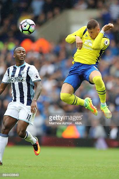 Ross Barkley of Everton during the Premier League match between West Bromwich Albion and Everton at The Hawthorns on August 20 2016 in West Bromwich...