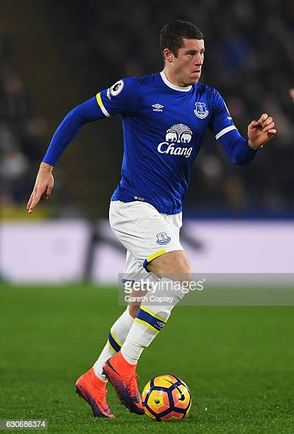 Ross Barkley of Everton in action during the Premier League match between Hull City and Everton at KCOM Stadium on December 30 2016 in Hull England