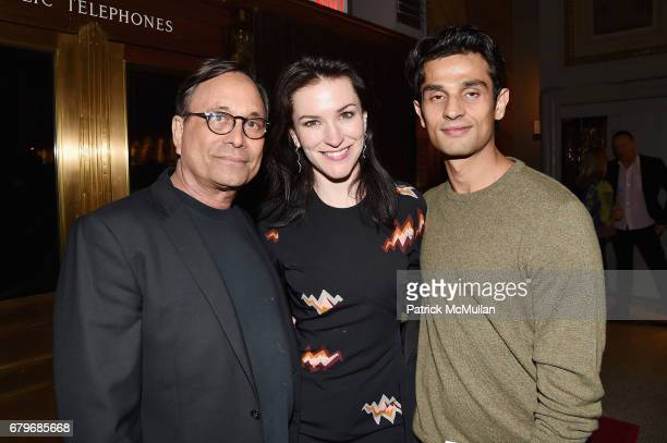 Ross Bleckner Janis Gardner Cecil and Rajan Mamtani attend BOMB's 36th Anniversary Gala Art Auction at Capitale on May 5 2017 in New York City