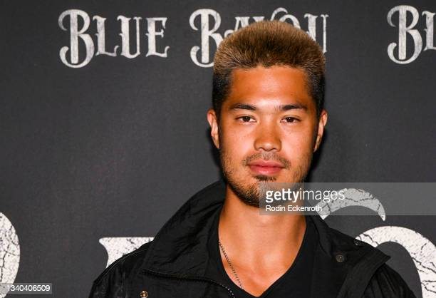 """Ross Butler attends the Los Angeles Premiere of Focus Features' """"Blue Bayou"""" at DGA Theater Complex on September 14, 2021 in Los Angeles, California."""