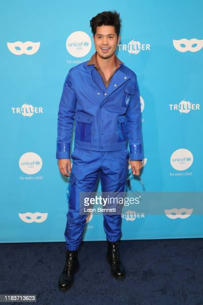Ross Butler attends UNICEF Masquerade Ball at Kimpton La Peer Hotel on October 26 2019 in West Hollywood California
