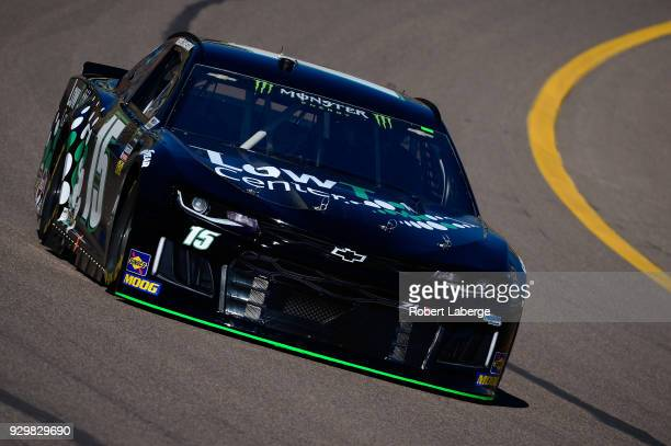Ross Chastain driver of the LowT Center Chevrolet practices for the Monster Energy NASCAR Cup Series TicketGuardian 500 at ISM Raceway on March 9...