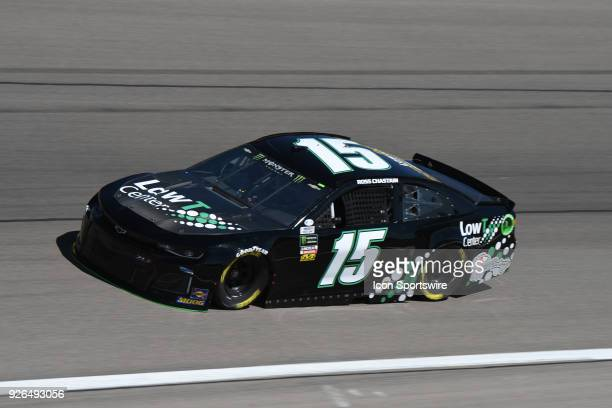 Ross Chastain Premium Motorsports Chevrolet Camaro ZL1 during practice for the Pennzoil 400 Friday March 2 at Las Vegas Motor Speedway in Las Vegas...