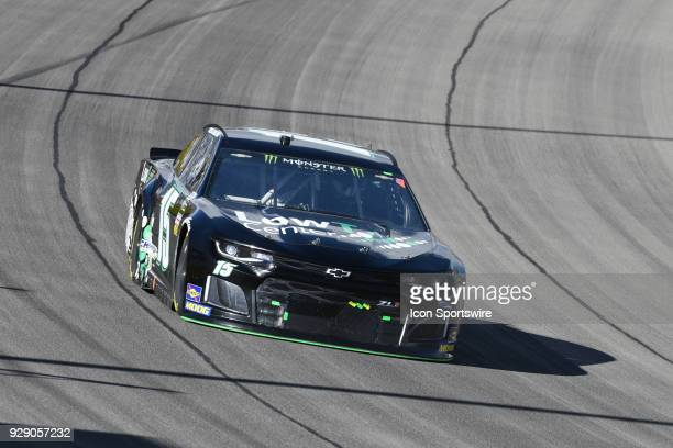 Ross Chastain Premium Motorsports Chevrolet Camaro ZL1 during the Pennzoil 400 Monster Energy NASCAR Cup Series race on March 4 at Las Vegas Motor...