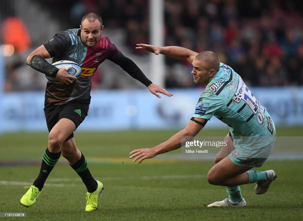 Harlequins v Gloucester Rugby - Gallagher Premiership Rugby : Nachrichtenfoto