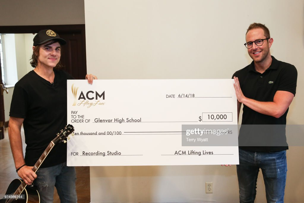 Ross Copperman and Tommy Moore attend the ACM Lifting Lives Music Camp Songwriting Workshop at Vanderbilt University on June 14, 2018 in Nashville, Tennessee.