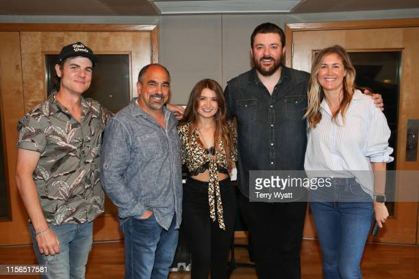 Ross CoppermanPaul Barnabee Tenille Townes Chris Young and ACM Lifting Lives Executive Director Lyndsay Cruz attend ACM Lifting Lives Music Camp...