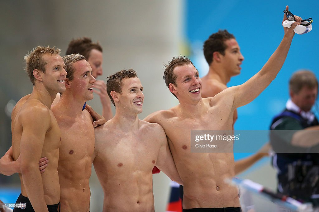 Olympics Day 4 - Swimming : News Photo
