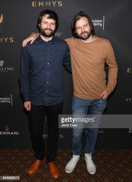 Ross Duffer and Matt Duffer attend an event celebrating Television Academy Nominees For Outstanding Casting at Montage Beverly Hills on September 7...