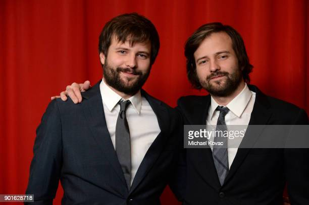 Ross Duffer and Matt Duffer attend the 18th Annual AFI Awards at Four Seasons Hotel Los Angeles at Beverly Hills on January 5 2018 in Los Angeles...
