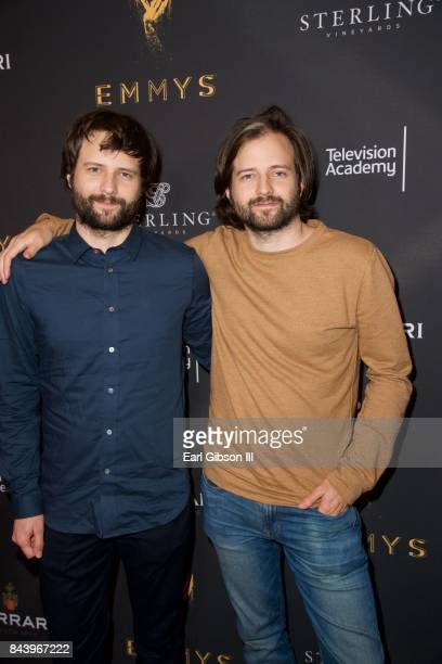 Ross Duffer and Matt Duffer attend the Television Academy Celebrates Nominees For Outstanding Casting at Montage Beverly Hills on September 7 2017 in...