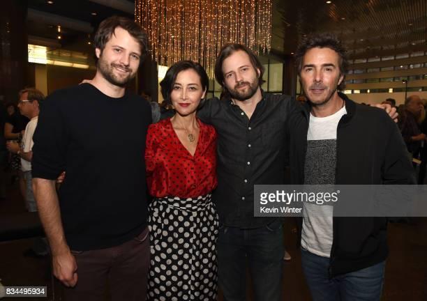 Ross Duffer creator writer and executive producer Carmen Cuba Casting Director Matt Duffer creator writer and executive producer and Shawn Levy...