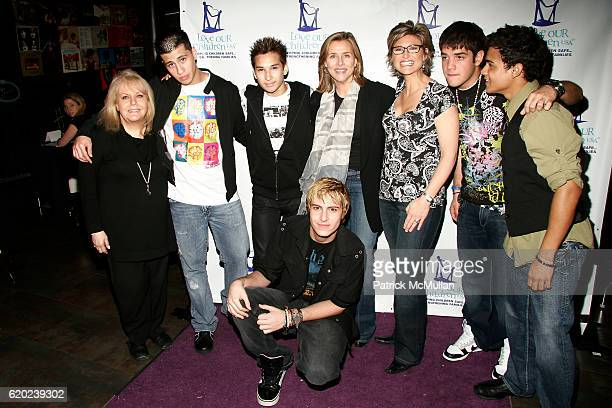 Ross Ellis New Menudo Meredith Vieira and Ashleigh Banfield attend A CELEBRATION OF CHILDREN National Love Our Children Day at Spotlight Live on...