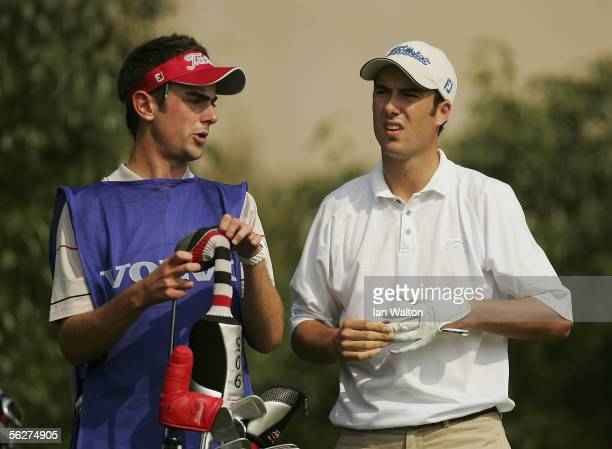Ross Fisher of England during Round Three for the Volvo China Open at the Shenzen Golf Club on November 26 2005 in Shenzhen China