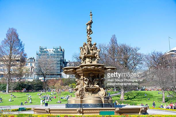 Ross Fountain in Edinburgh.