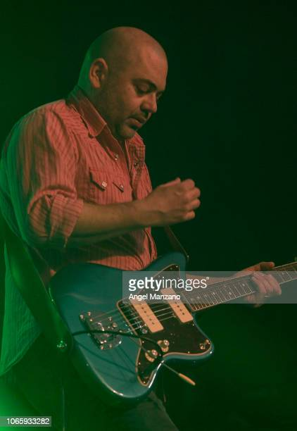 Ross Godfrey from Morcheeba performs in concert at La Riviera on November 27 2018 in Madrid Spain