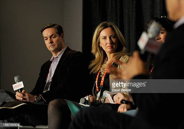 Ross Honey GM Entertainment and Advertising at Xbox Live and Tonia O'Connor President of Distribution Sales and Marketing at Univision Communications...