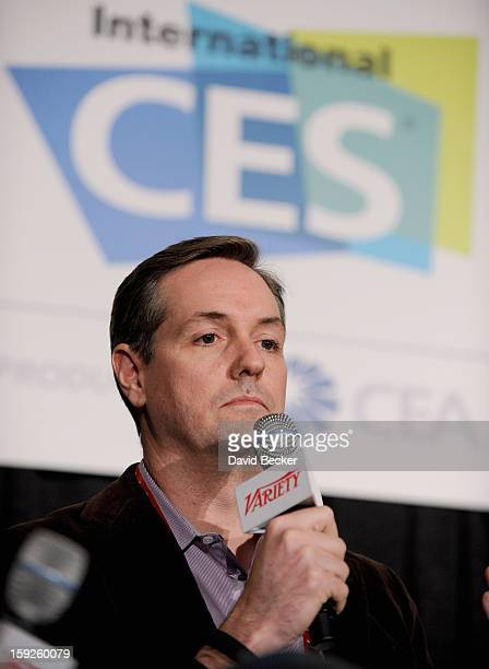 Ross Honey GM Entertainment and Advertising at Xbox Live appears onstage during Variety Entertainment Summit at The 2013 International CES at Las...
