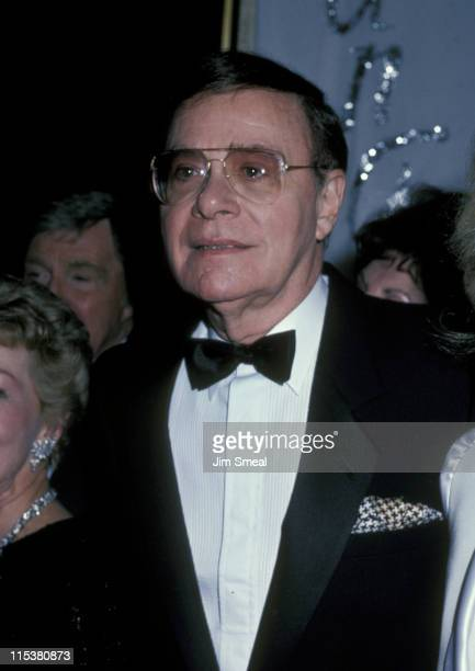 Ross Hunter during Thalians Benefit Dinner October 12 1985 at Century Plaza Hotel in Century City California United States